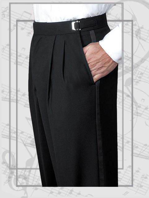 Wool Adjustable Trousers