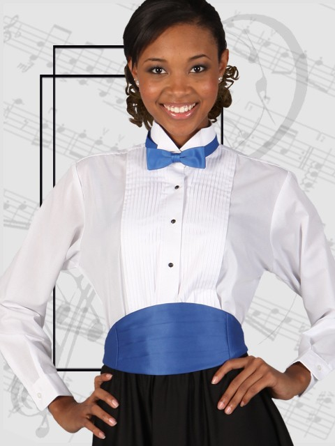 Wing Collar Blouse