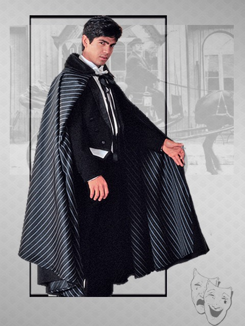 opera cape with lining