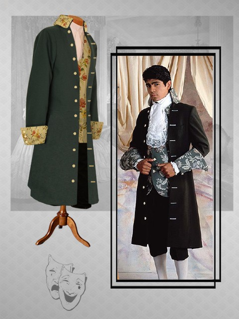 Gainsborough theatrical costume uniform colonial for Outlet colonial